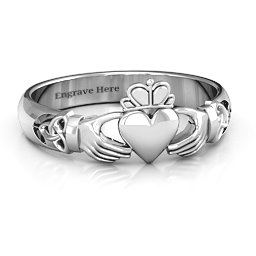Claddagh Rings Personalized By You Jewlr