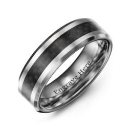 men 39 s promise rings personalized for husband or. Black Bedroom Furniture Sets. Home Design Ideas