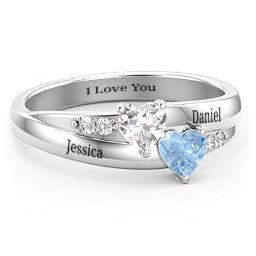 96e2764738b41 Promise Rings - Personalized with Gemstones and Engravings | Jewlr