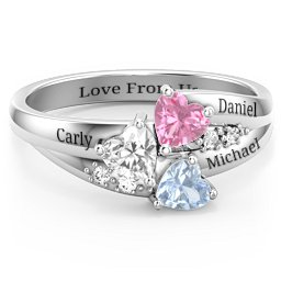 Mothers Rings - Personalizable and Engravable | Jewlr